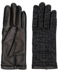 Agnelle - Перчатки С Кожаными Вставками - Lyst