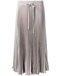 RED Valentino - Sunray Pleated Skirt - Lyst