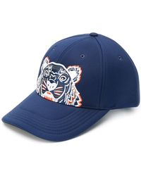 KENZO - Tiger Embroidered Cap - Lyst