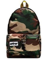 Off-White c/o Virgil Abloh - Rucksack mit Camouflage-Muster - Lyst