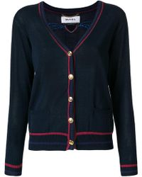 MUVEIL - Embellished Patch Cardigan - Lyst