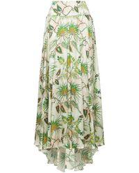 Adriana Iglesias - Tropical Print Full Skirt - Lyst