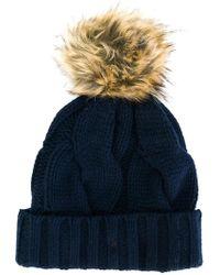 Polo Ralph Lauren - Pom Pom Beanie Hat - Lyst