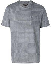 Michael Kors - Striped T-shirt - Lyst
