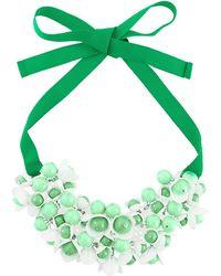 P.A.R.O.S.H. - Floral Motif Short Necklace - Lyst