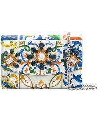 Dolce & Gabbana - 'Maioliche' Clutch - Lyst