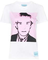 Calvin Klein Jeans - Andy Warhol Print T-shirt - Lyst