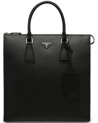 Prada - Top Handles Tote Bag - Lyst