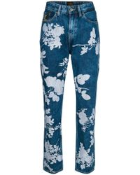Vivienne Westwood Anglomania - Floral Print Jeans - Lyst