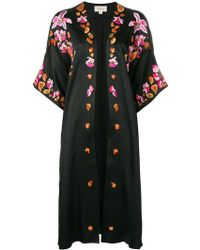 Temperley London - Embroidered Open Front Coat - Lyst