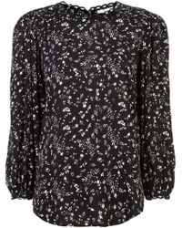 Joie - Printed top - Lyst