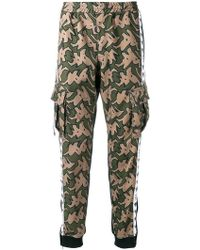 P.a.m. Perks And Mini - Camouflage Print Track Pants - Lyst