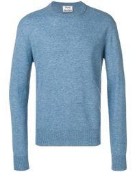 Men Gray Studios Lyst For Sweater Niale Acne In Ultralight Hq4CS1