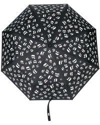 Karl Lagerfeld - Ombrello con stampa K/Ikonik - Lyst