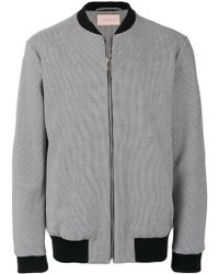 Christopher Kane - Houndstooth Bomber Jacket - Lyst