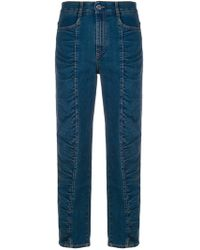 Stella McCartney - Ruched Panel Jeans - Lyst