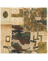Pierre Louis Mascia - Camouflage Scarf - Lyst