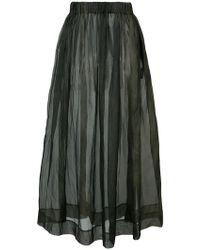 Uma Wang - Elasticated Sheer Dress - Lyst
