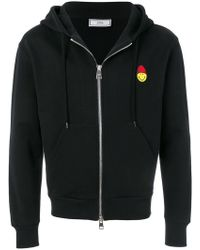 AMI - Sweatshirt zippé patch Smiley - Lyst