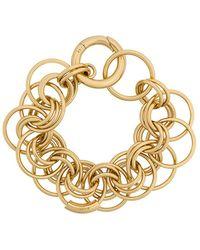 Chloé - Circle Embellished Bracelet - Lyst