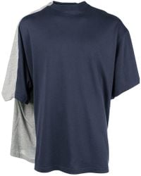 Y. Project - Layered Back T-shirt - Lyst