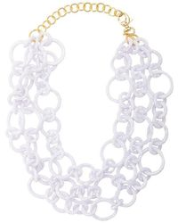 Lele Sadoughi - Chunky Chain Necklace - Lyst