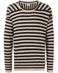 Laneus - Striped Jersey - Lyst