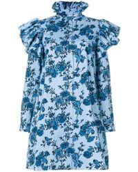 Alistair James - Floral Love Shirt Dress - Lyst