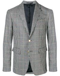 Mauro Grifoni - Checked Tailored Blazer - Lyst