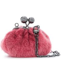 Weekend by Maxmara - Mini Pasticcino Fur Bag - Lyst