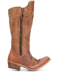 Golden Goose Deluxe Brand - Golden Zip Cowboy Boots - Lyst