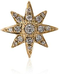 SHAY - 18k Yellow Gold Diamond Star Earring - Lyst