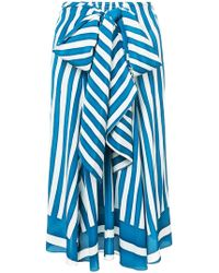 TOME | Striped Skirt | Lyst