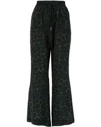 Osklen - Lynx Silk Trousers - Lyst
