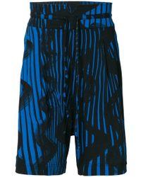 Vivienne Westwood - Printed deck shorts - Lyst