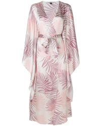 Gilda & Pearl - Floral Embroidered Night-gown - Lyst