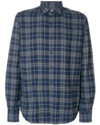 Xacus - Chequered Shirt - Lyst