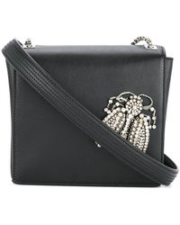 Rochas - Embellished Bug Cross Body Bag - Lyst