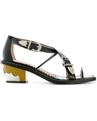 Toga Pulla - Stacked Western Sandals - Lyst