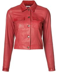 Tomas Maier - Cropped Jacket - Lyst