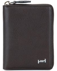 Tod's - Double-t Leather Wallet - Lyst