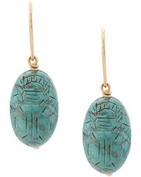 Aurelie Bidermann - Bead Drop Earrings - Lyst