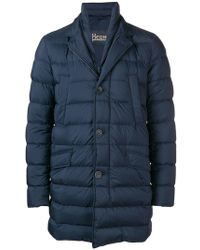 Herno - Padded Straight-fit Coat - Lyst