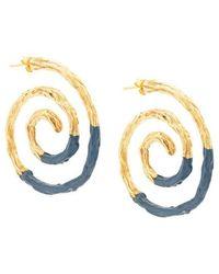 Lizzie Fortunato - Spiral Earrings - Lyst