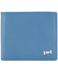 Tod's - Classic Bifold Wallet - Lyst