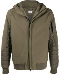 C P Company - Padded Hooded Jacket - Lyst