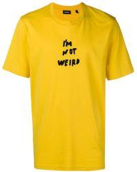 DIESEL - T-just-wo T-shirt - Lyst