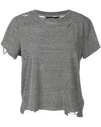 Amiri - Distressed T-shirt - Lyst