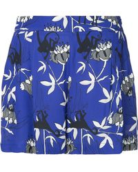 Markus Lupfer - Printed High-waisted Shorts - Lyst