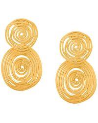 Gas Bijoux - Wave Earrings - Lyst